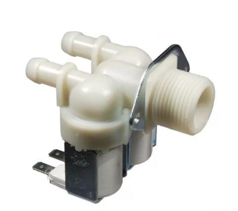 Заливной клапан стиральной машины. Наиболее частая причина поломки — высокое давление