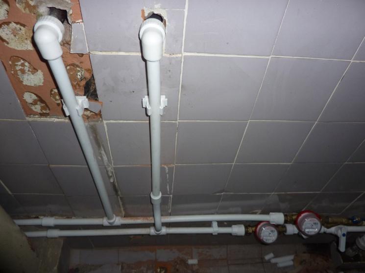 Полипропиленовый водопровод вквартире