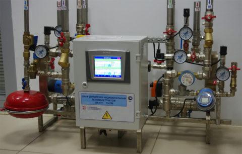Контрольно-измерительная аппаратура в тепловом пункте
