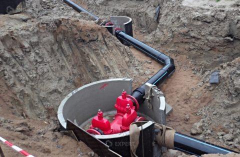 Монтаж магистрального водопровода