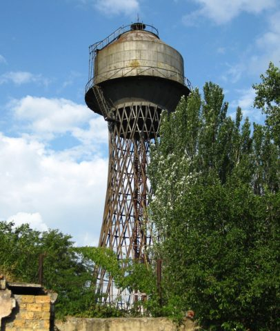 Нафото— напорная башня вНиколаеве, Украина