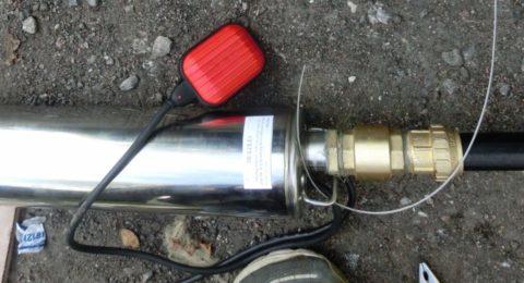 Обратный клапан на выходе погружного насоса