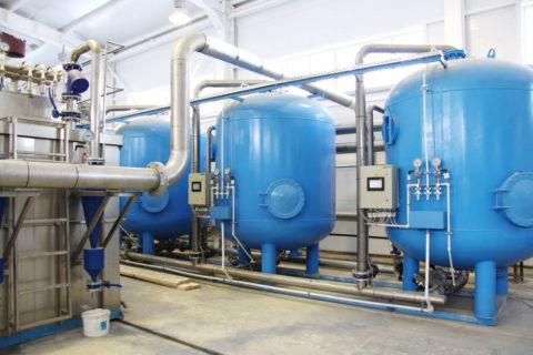 Очистка воды воборотном водоснабжении