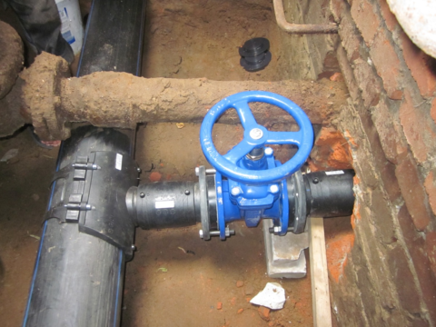 Отвод отмагистрального водопровода намногоквартирный дом