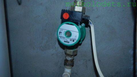 Циркуляционный насос для ГВС и отопления