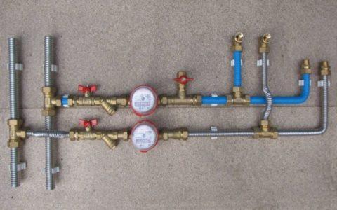 Внутренний водопровод изгофротруб Кофулсо