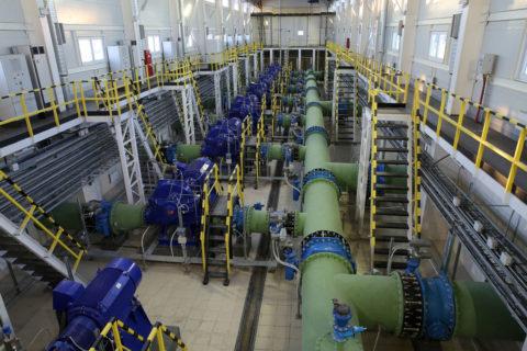 Водопровод напроизводстве