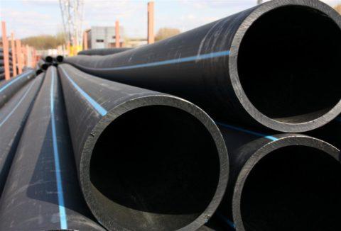 Водопроводные трубы изполиэтилена низкого давления (ПНД)