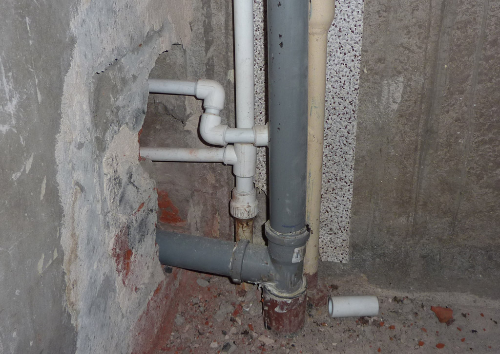 фото замена стояков квартире водоснабжения в