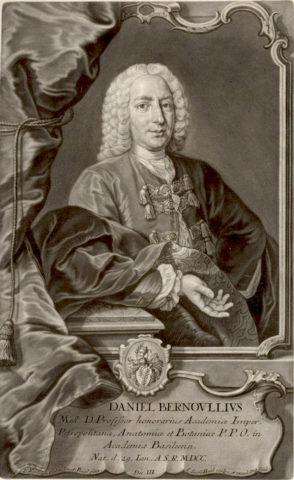 Бернулли считается создателем гидродинамики