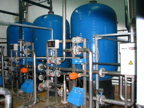 Емкости для резервного водоснабжения