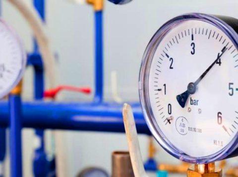 Норма для жилого дома — давление от 1 до 4,5 кгс/см2