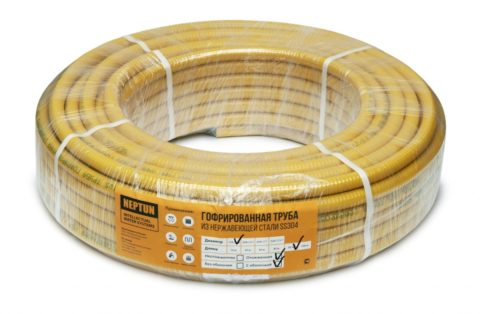 Полиэтиленовая оболочка уменьшает теплопроводность стенок