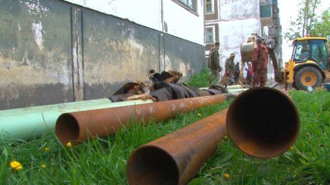 Водоснабжение группы потребителей отключено на время ремонта магистрали