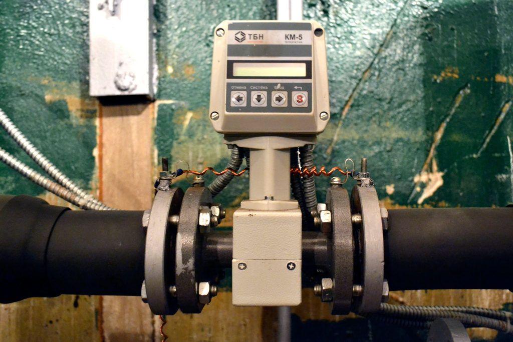 Современный прибор учета расхода воды и тепла