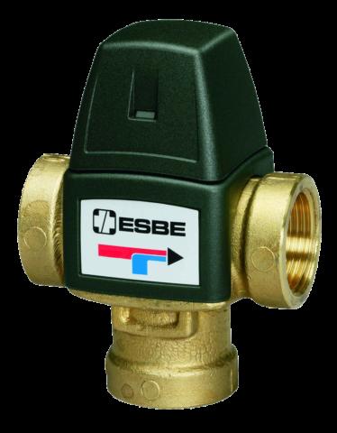 Клапан термостатический трехпроходной