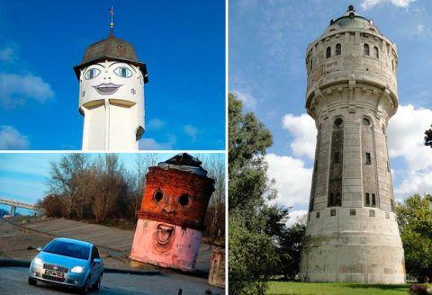 Креатив не чужд проектировщикам и строителям – башня, как архитектурное украшение местности