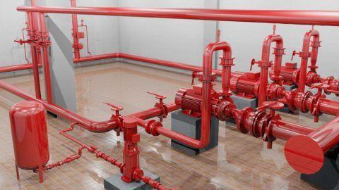 Материал пожарного водопровода — сталь