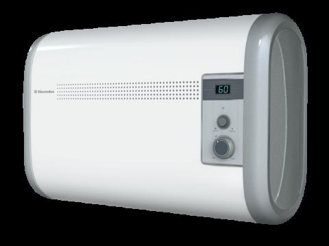 Накопительный водонагреватель Электролюкс горизонтального типа