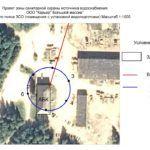 План 1 пояса санитарной зоны в масштабе 1:1000
