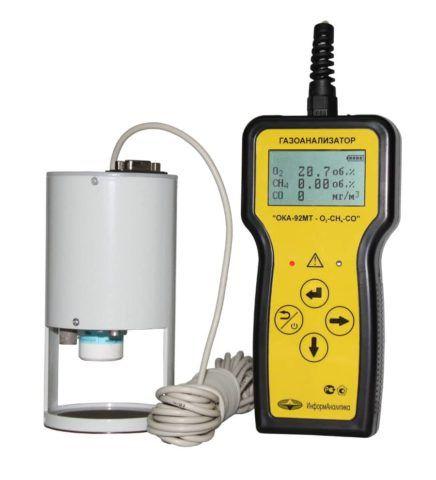 Прибор для замера концентрации газа в колодце