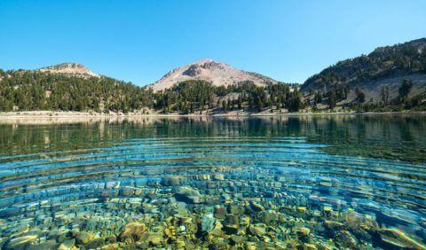 Столь чистый поверхностный источник можно найти только где-нибудь высоко в горах