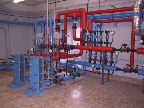 Теплообменники для нагрева воды в современном тепловом пункте