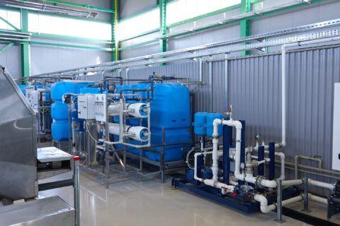 Установка для очистки производственной воды