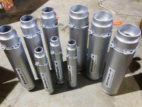Устройства для компенсации термического удлинения металлических трубопроводов