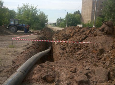 Вдоль трассы водопровода тоже будет санитарная зона