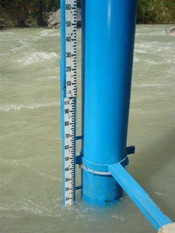 Замер уровня воды