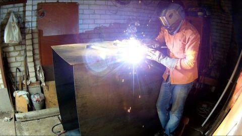 Изготовление металлического бака