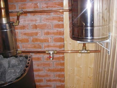 Медные трубы в бане