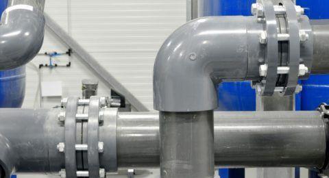 Напорный водопровод. Материал — ПВХ