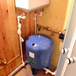 Частный дом с оборудованием для водоснабжения