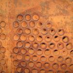 Накипь на трубках кожухотрубчатого теплообменника