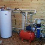 Оборудование для водоснабжения деревянного строения