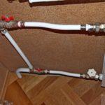 Перемычка из металлопластиковой трубы