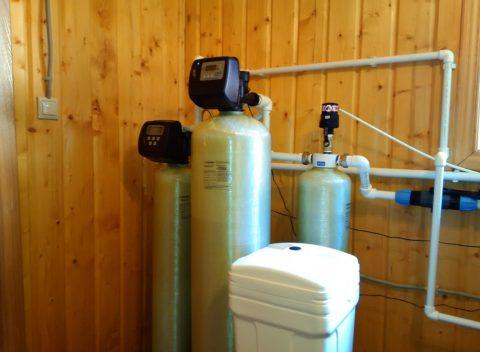 Система водоподготовки в загородном строении