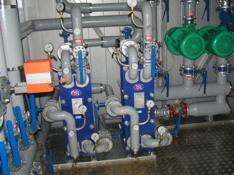 Теплообменники горячего водоснабжения