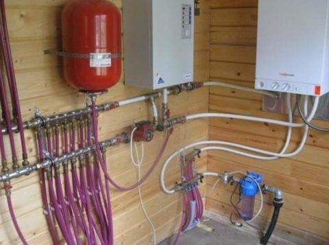 Водоснабжение в брусовом доме