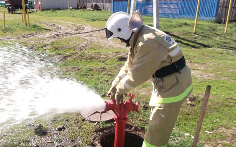 Противопожарный источник воды