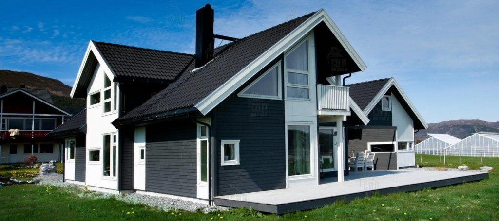 Желаете стать хозяином такого дома в максимально короткий срок? Тогда выбирайте СИП-панели для строительства