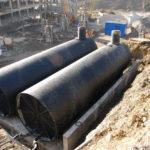 Подземные резервуары для пожарного водоснабжения