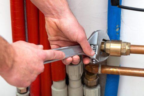 Разводка труб на горячее водоснабжение