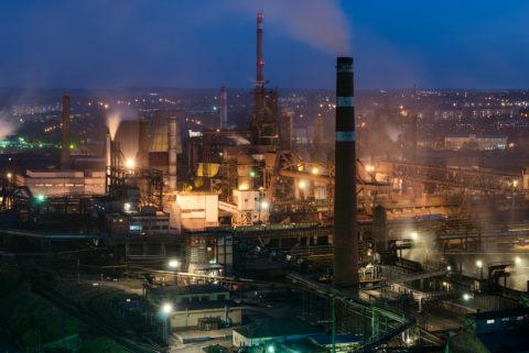 Завод в черте города – распространенное явление