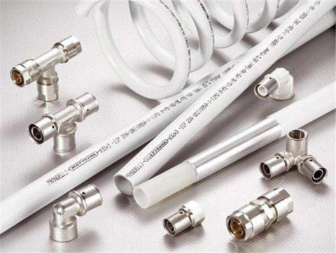 Металлопластиковые водопроводные трубы