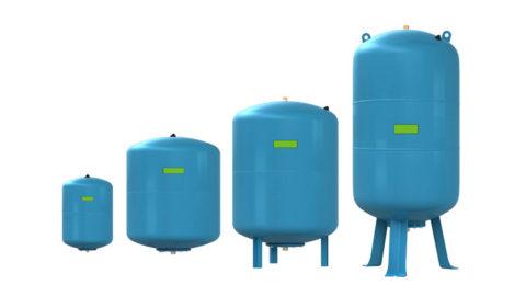 Гидроаккумуляторы разной емкости