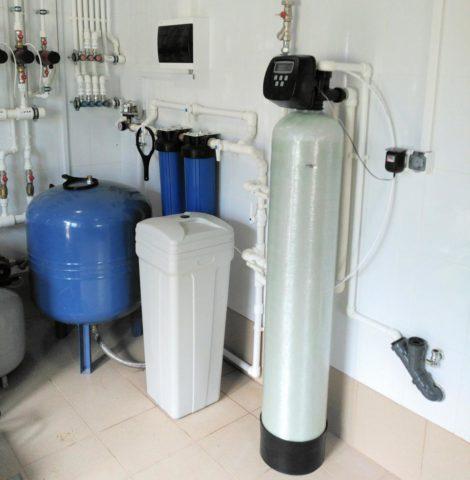 Бытовая система водоподготовки