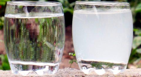 Качество воды в разных источниках отличается